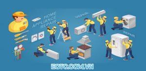 Lắp đặt –sửa chữa máy lạnh biên hòa, bảo trì hệ thống điện lạnh, điện gia dụng.