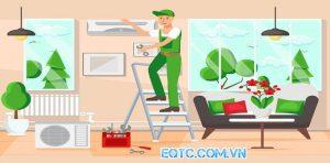 Dịch vụ sửa máy lạnh tại nhà nhanh chóng