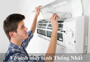 Địa chỉ vệ sinh máy lạnh/ máy điều hòa giá rẻ uy tín ở đâu tại Thống Nhất?
