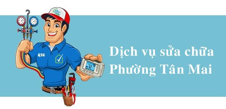 Sửa máy lạnh, máy giặt, tủ lạnh, giá rẻ tại Tân Mai Biên Hoà