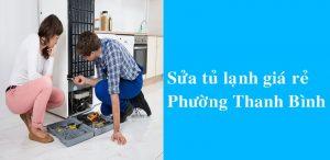 Sửa tủ lạnh, tủ mát, tủ đông, giá rẻ tại nhà Thanh Bình