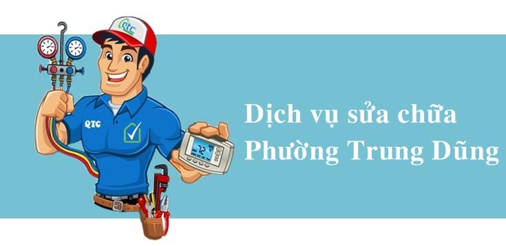 Sửa máy lạnh, máy giặt, tủ lạnh, giá rẻ tại Trung Dũng Biên Hoà