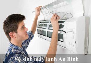 Dịch vụ vệ sinh máy lạnh An Bình