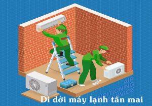 Dịch vụ di dời máy lạnh tại phường tân mai, đồng nai