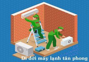 Dịch vụ di dời máy lạnh tại phường tân phong, đồng nai