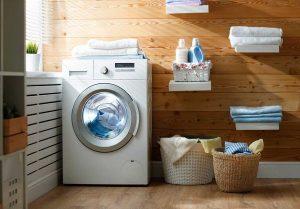 Giữ máy giặt khô thoáng