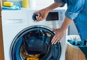 Bật lại máy giặt để kiểm tra