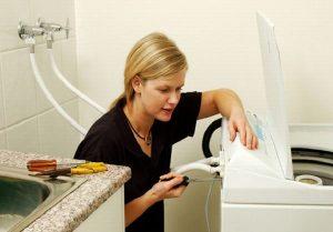 Đường ống dẫn nước đầu vào máy giặt bị tắc nghẽn