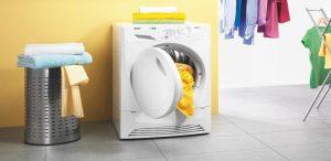 Vị trí lắp đặt máy giặt không vững chắc