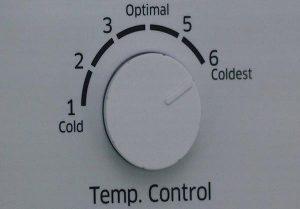 Nhiệt độ không được điều chỉnh chính xác