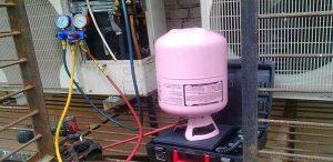 Những tác hại khi máy lạnh hết gas