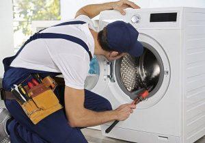 Linh kiện bên trong máy giặt bị lỗi