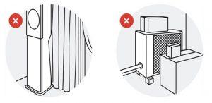 Dọn dẹp chướng ngại vật xung quanh dàn nóng và dàn lạnh