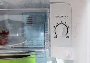 Những lưu ý khi điều chỉnh nhiệt độ tủ lạnh